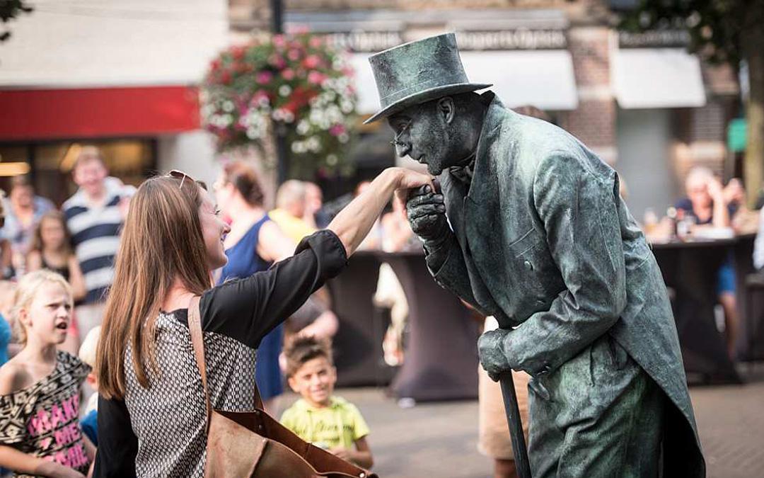 Living Statues Festival Oss